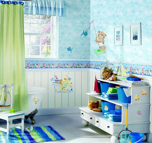kids bathroom decor