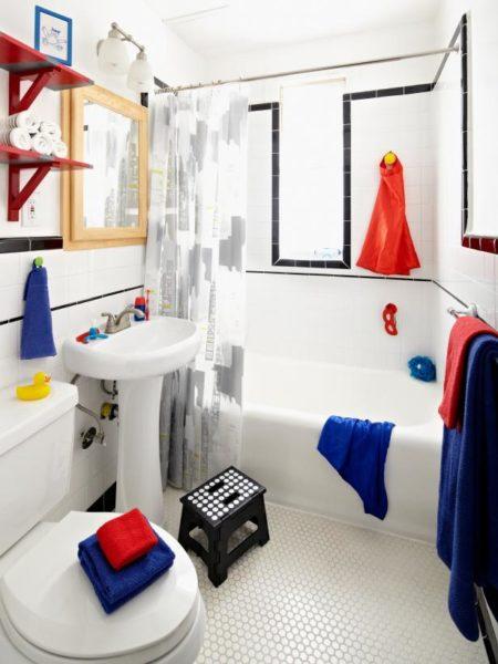 kid bathroom wall decor