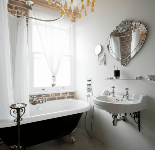 tiny bathroom mirror ideas