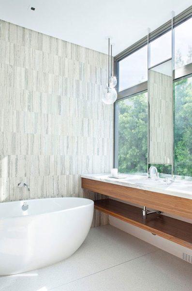corner bathroom mirror ideas