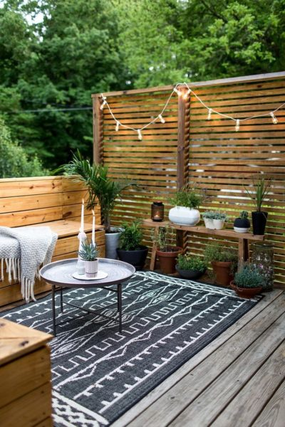 small deck building plans