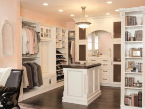 small modern walk in closet design