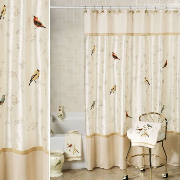 houzz bathroom shower curtain ideas