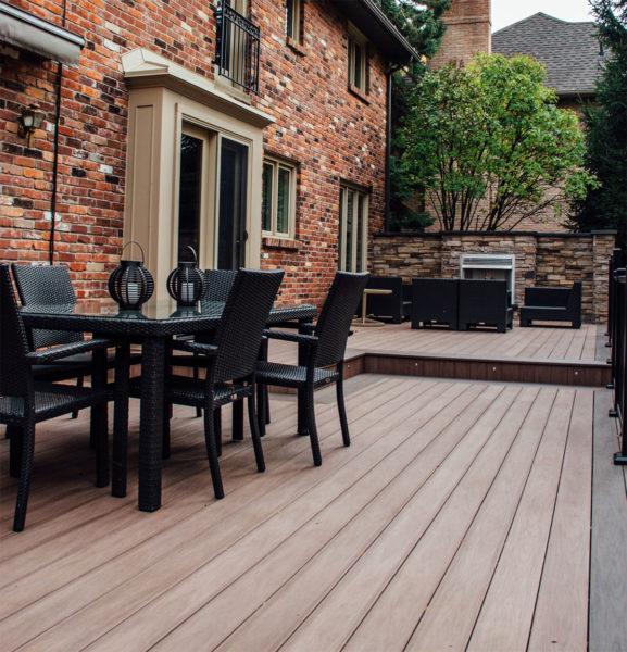 wood deck skirting ideas