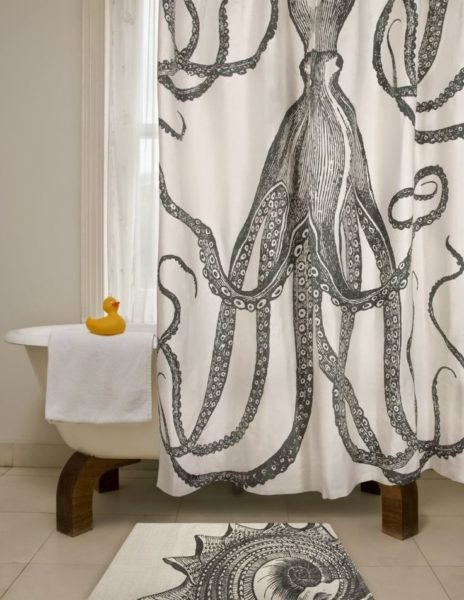 l shaped shower curtain ideas