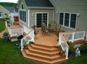 covered back deck ideas