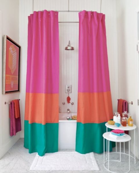unique shower curtain ideas
