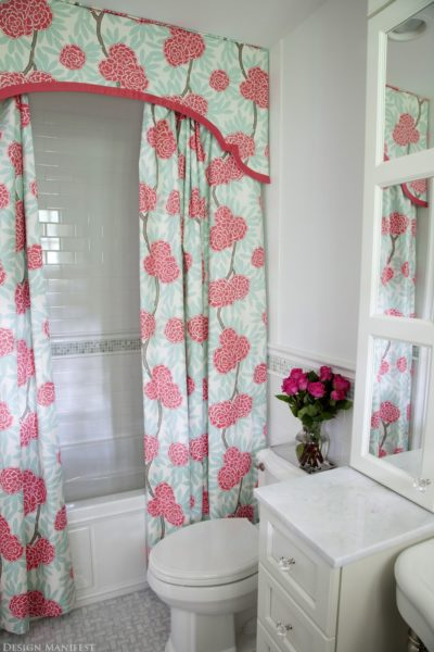 shower curtain ideas for small shower
