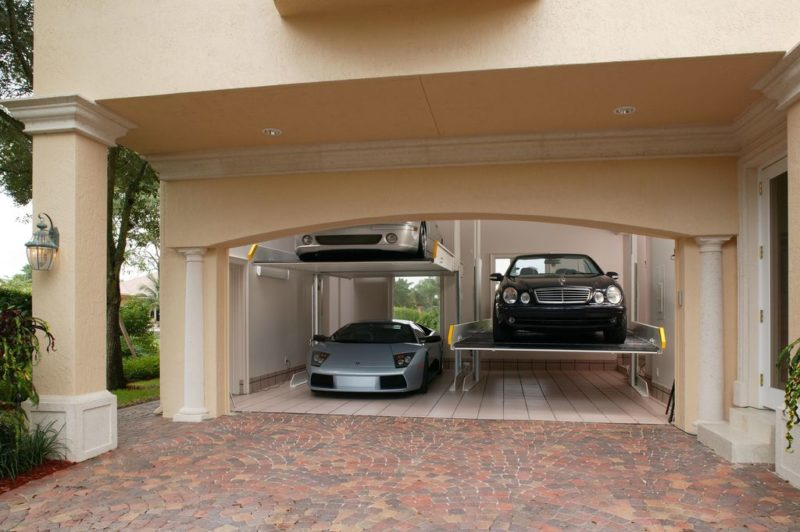 garage exterior wall design ideas