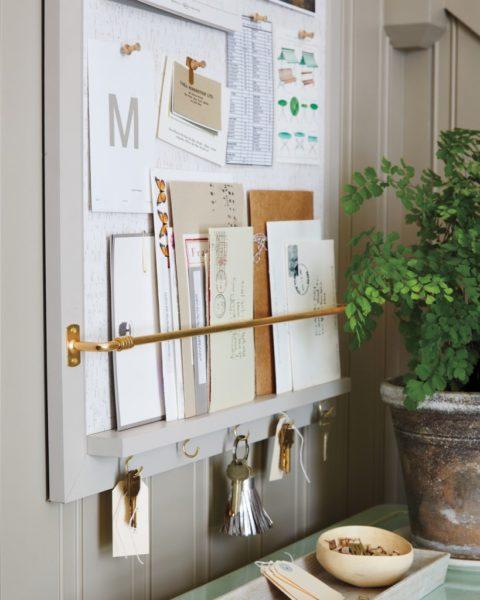 cork board map diy