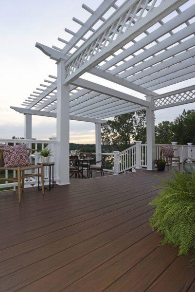 composite deck skirting ideas