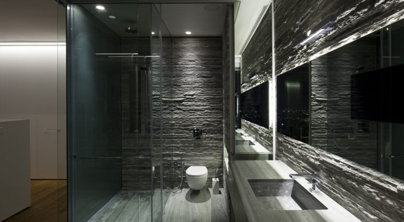grey and bathroom ideas