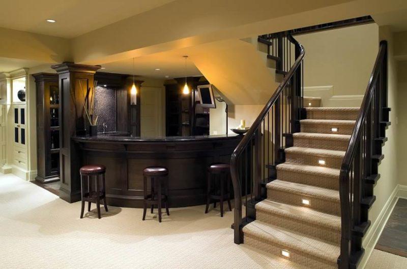 small basement wet bar ideas