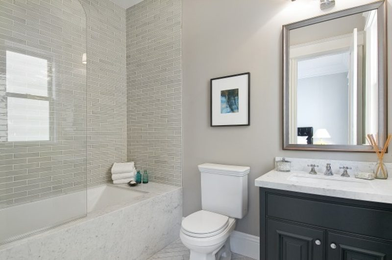 grey bathroom fixtures ideas