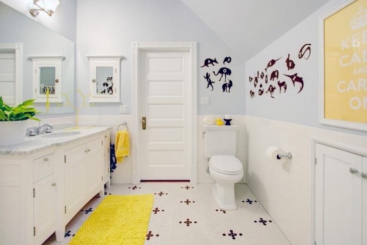 kid friendly bathroom vanities