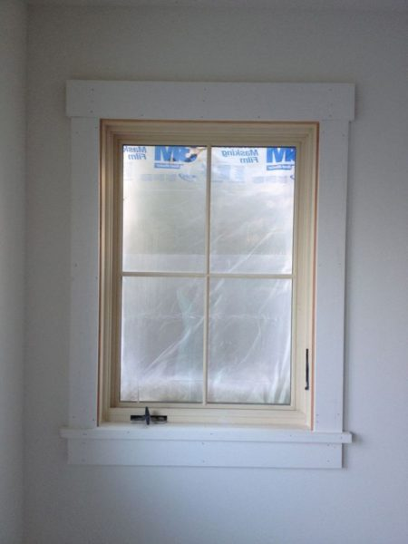 colonial window trim ideas