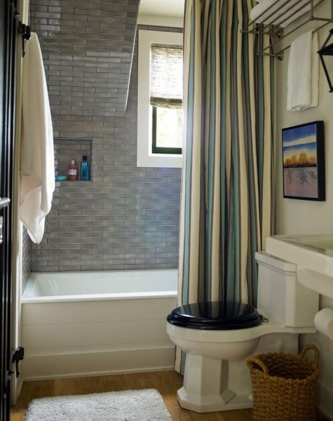 shower curtain color ideas