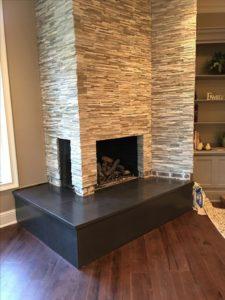 fireplace tile decorating ideas