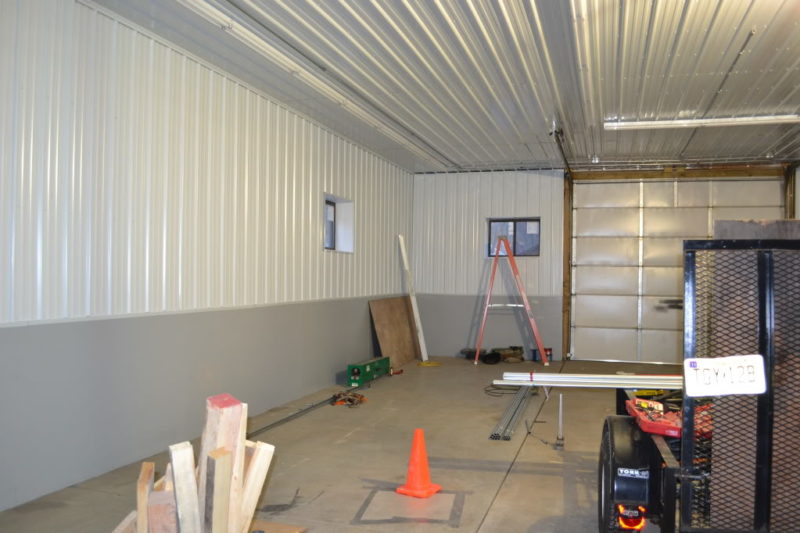 garage wall finishing ideas