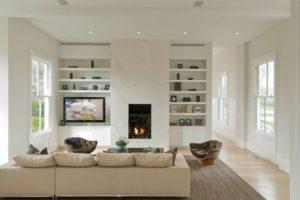 fireplace ideas tile glass
