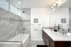 basement bathroom wall ideas