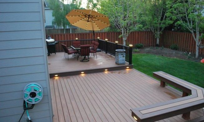 Charmant Home / 27+ Most Creative Small Deck Ideas, Making Yours Like Never Before!  / Deck And Patio
