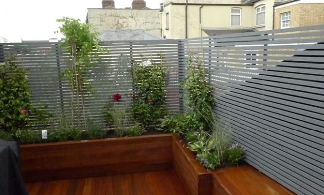 Marvelous Home / 27+ Most Creative Small Deck Ideas, Making Yours Like Never Before!  / Deck Privacy