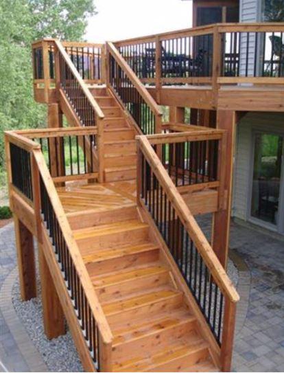 metal deck skirting ideas