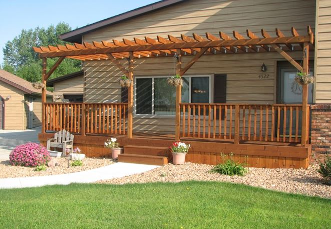 small high deck ideas