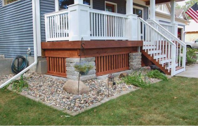 deck skirting design ideas