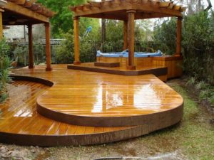 modern covered deck ideas