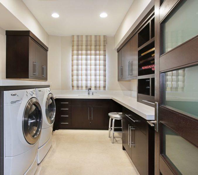 hgtv basement laundry room