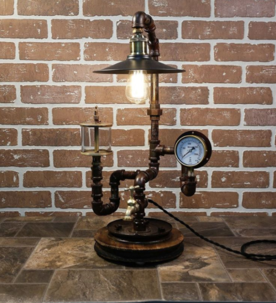 steampunk diy bedroom