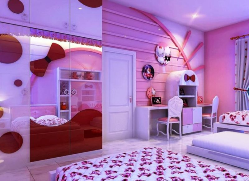 hello kitty decoration for bedroom