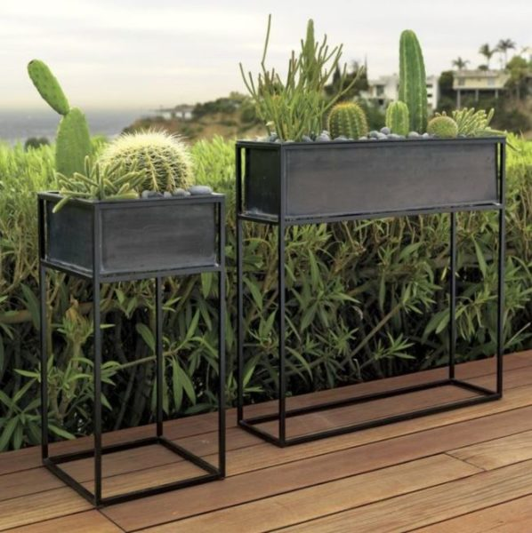 plant stands rectangular
