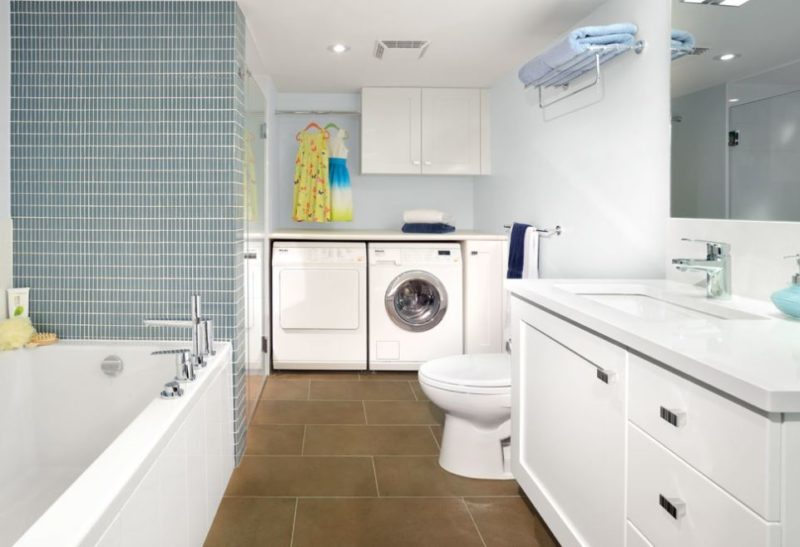 remodeling a basement laundry room