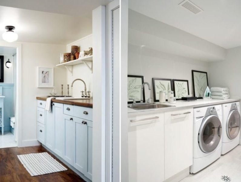 paint colors for basement laundry room