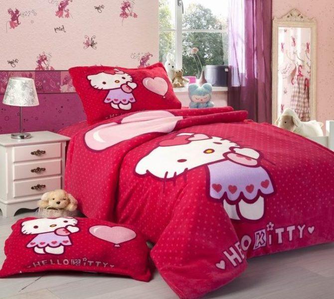 hello kitty bedroom walmart