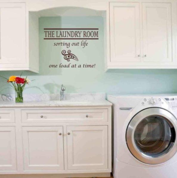 fix up basement laundry room