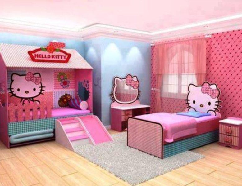 hello kitty bedroom tour