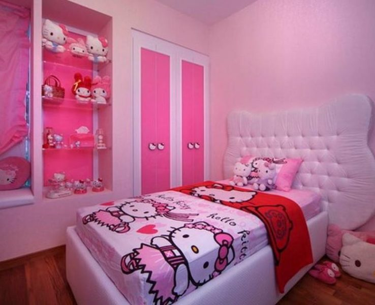 hello kitty bedroom carpet