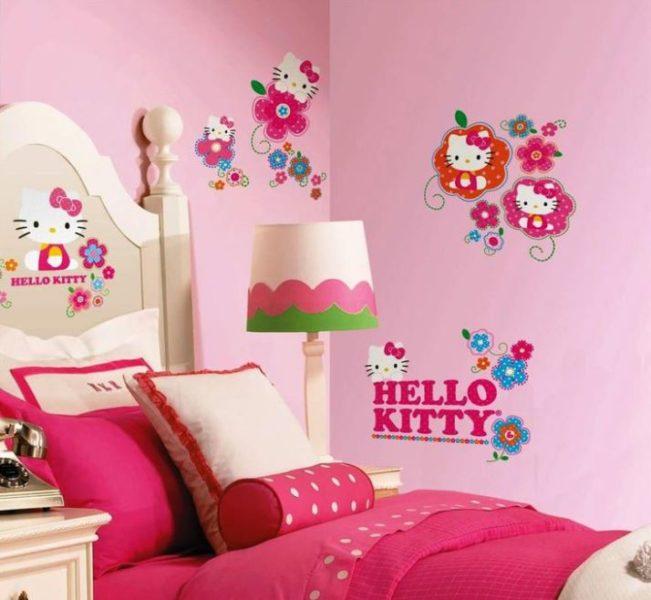 hello kitty bedroom door sign