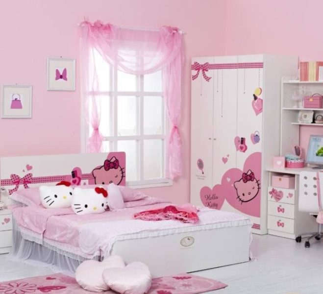 Enchanting Kid s Bedroom with Hello Kitty Theme. 23 Most Popular Hello Kitty Bedroom Decoration that Delight and Wow