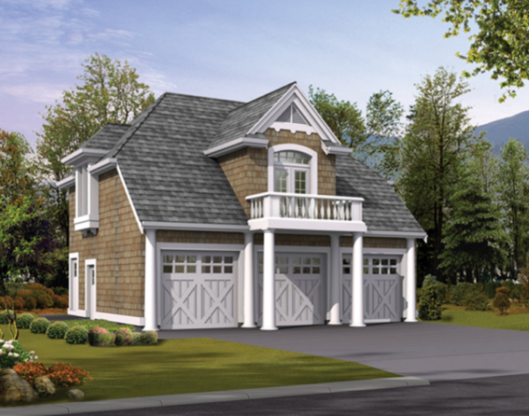 unique detached garage plans