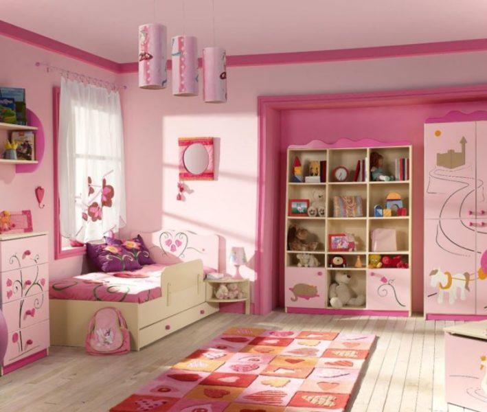 hello kitty bedroom colors