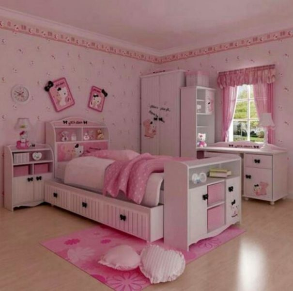hello kitty room decoration games