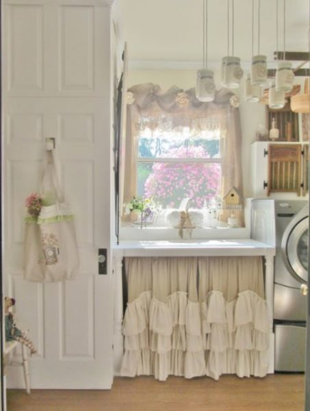 photos of basement laundry rooms