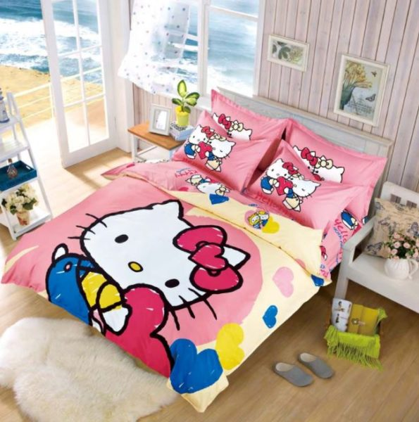hello kitty bedroom things