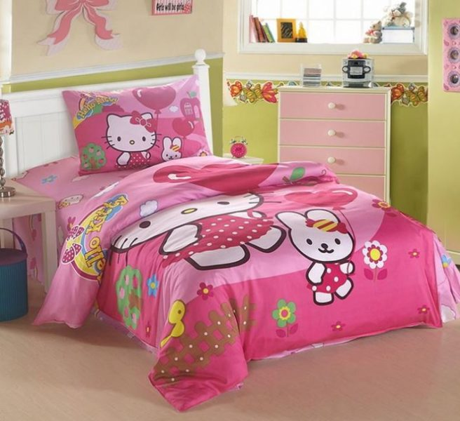 hello kitty bedroom set full