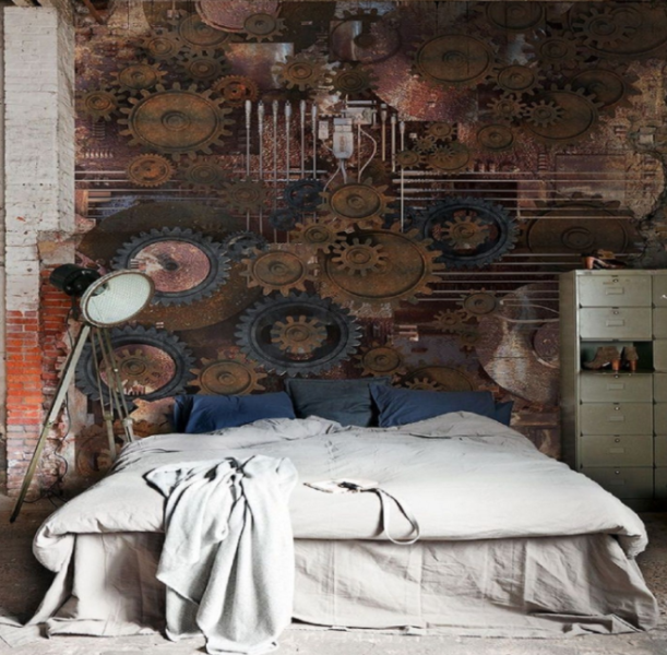 steampunk nursery decor